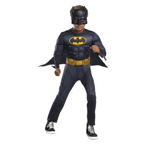 NWT Batman Costume with Plastic Batman pail